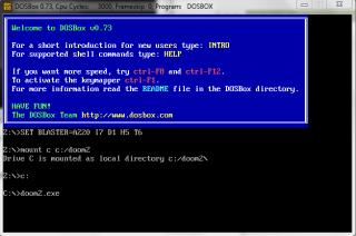 Spuštění Doom 2 pod DosBoxem