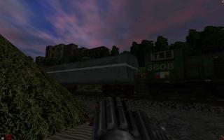Před železniční drahou