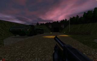 Před bunkrem
