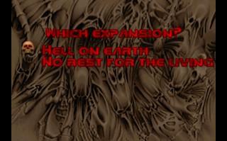 Startovní menu - Doom II