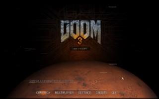 Doom 3 - titulní obrazovka