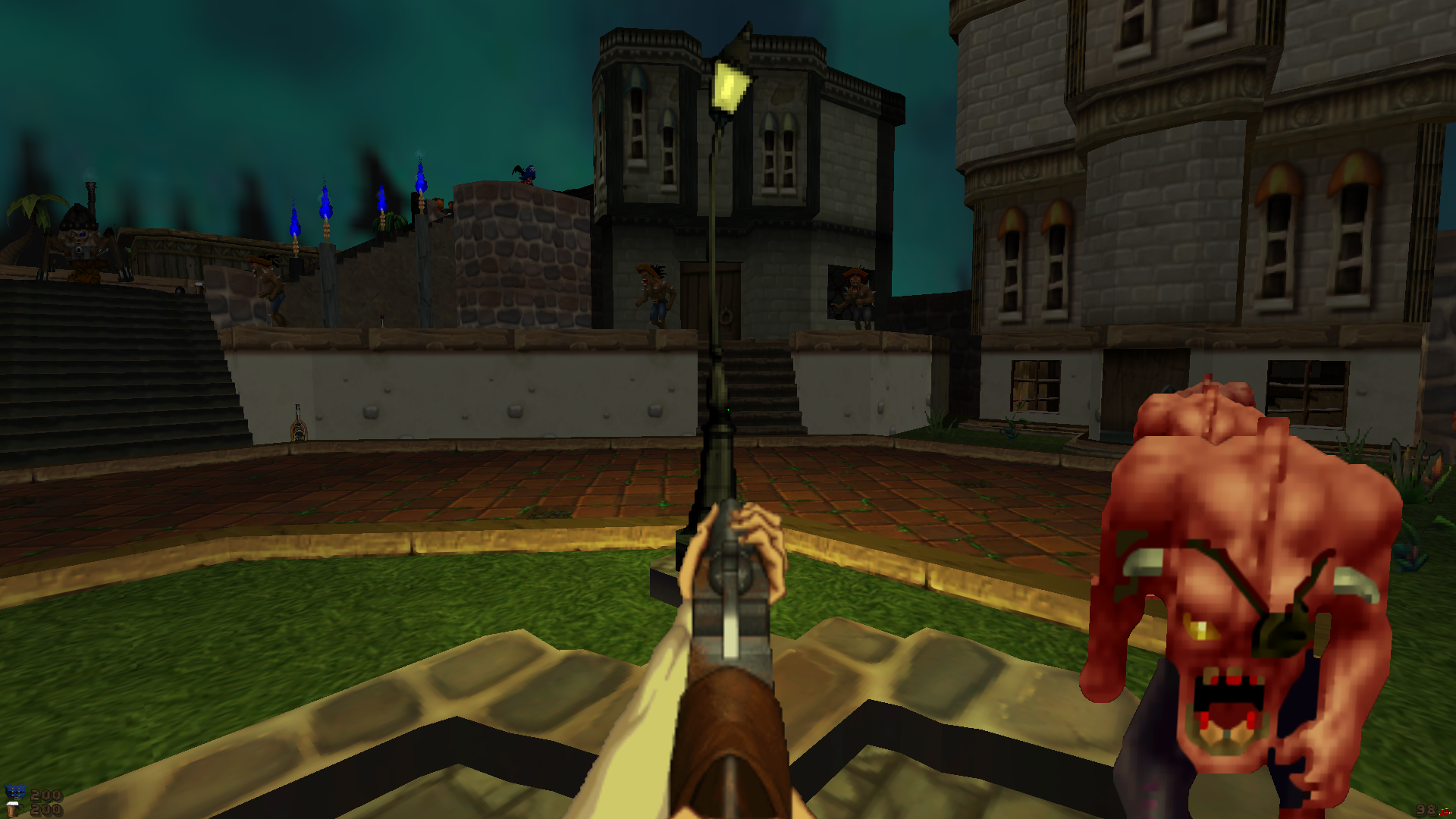 Should I play classic wads without the aid of mods? - WADs